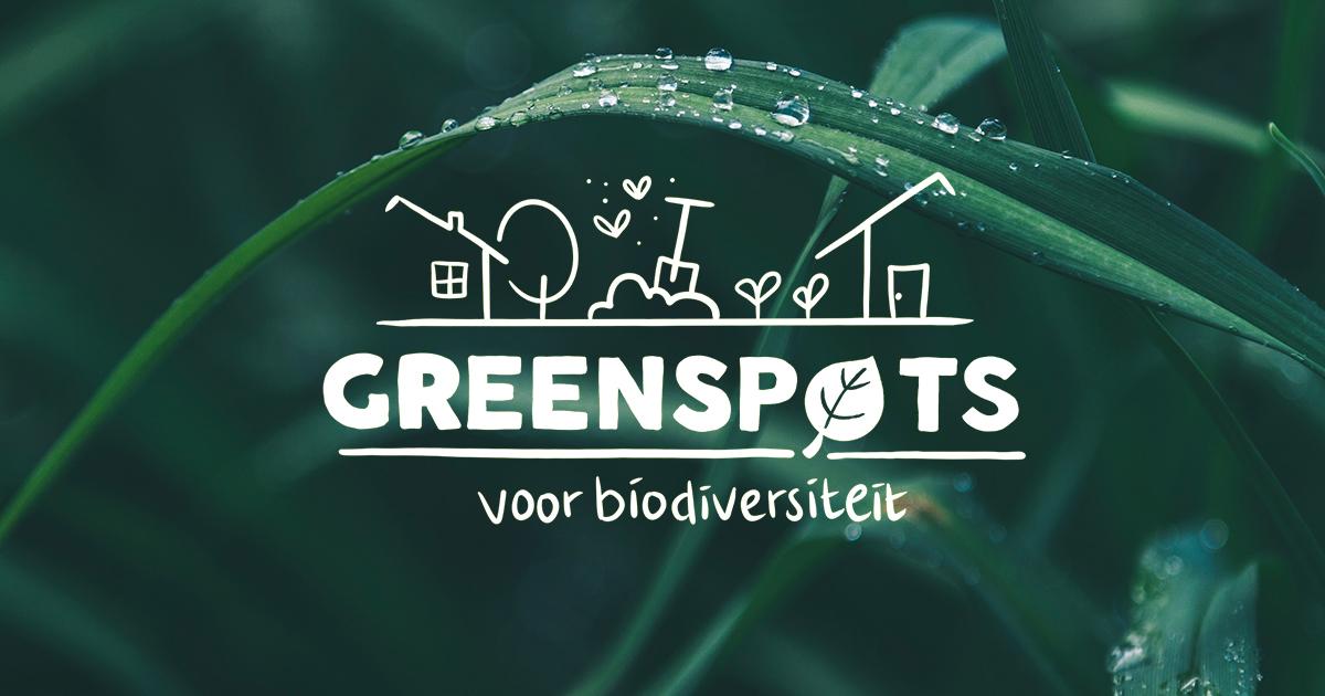 Greenspots voor biodiversiteit