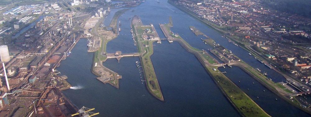 Ontwerpplan nieuwe zeesluis Velsen ligt ter inzage