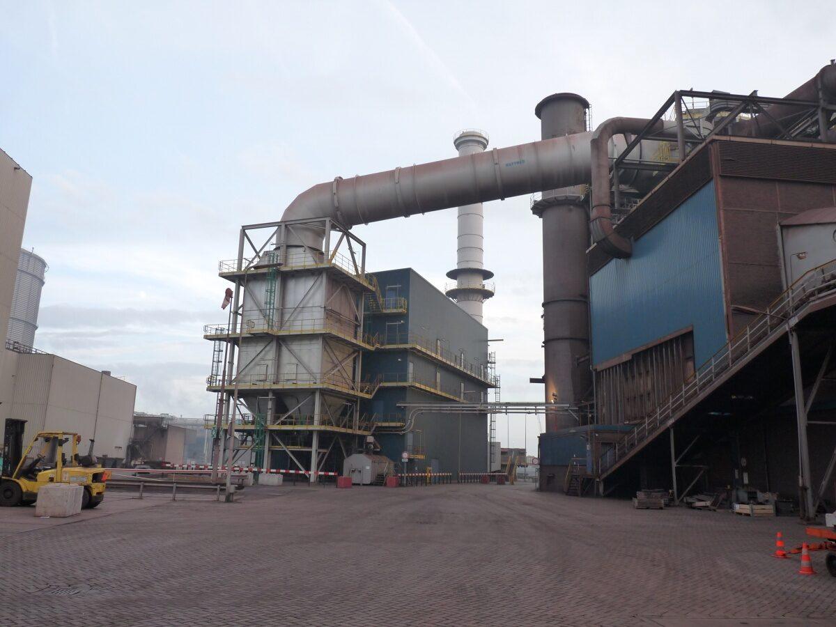 Tata Steel opent doekfilterinstallatie