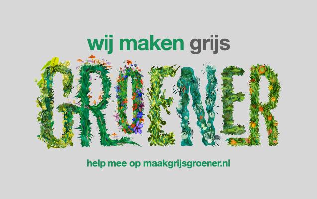 Maak Grijs Groener brengt biodiversiteit tot leven
