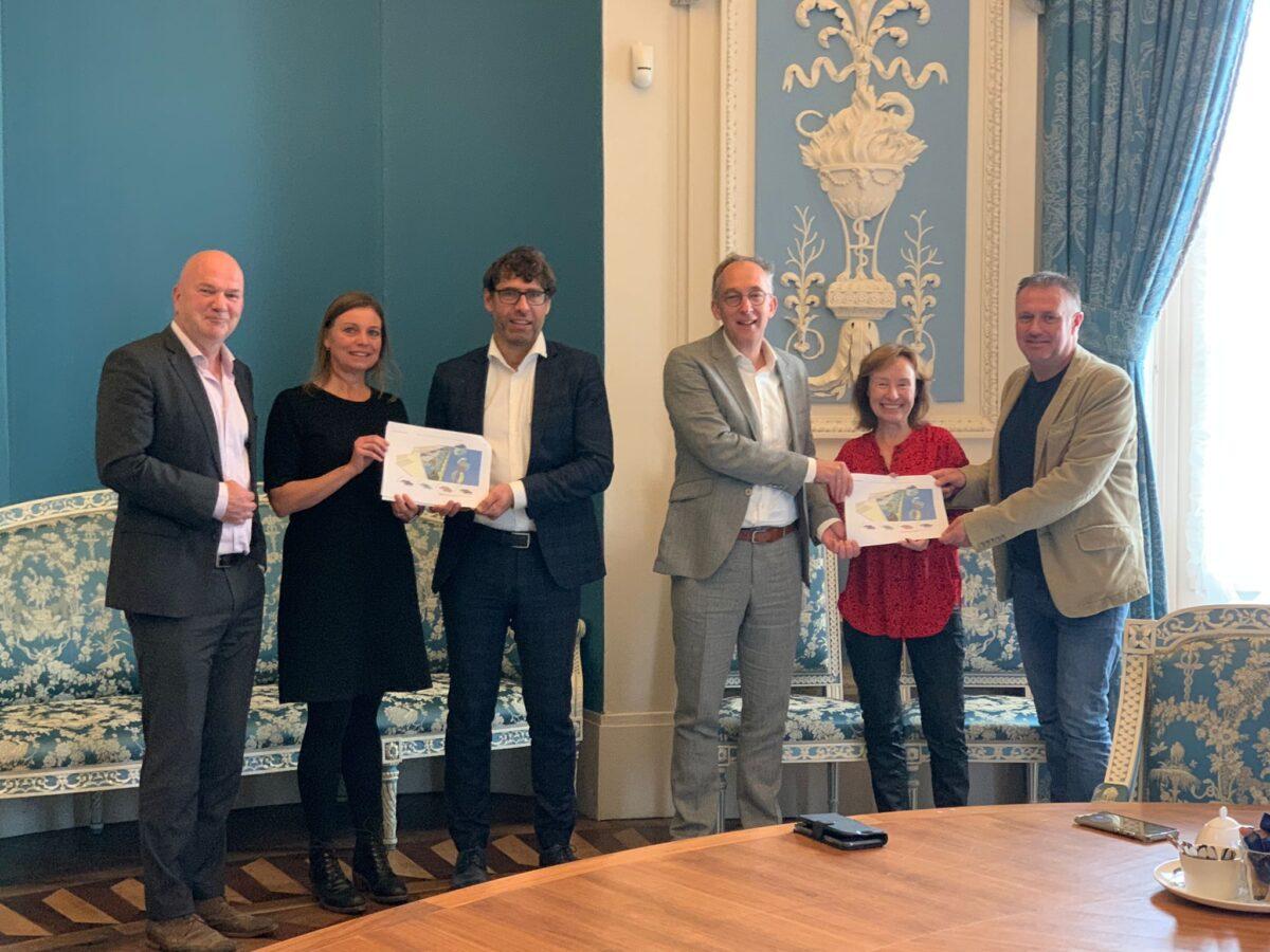 Natuurorganisaties presenteren plan Multifunctionele Achteroever Wieringermeer als alternatief voor zonne-atollen IJsselmeer